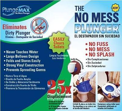 PlungeMAX - No Mess, Sanitary Toilet Plunger