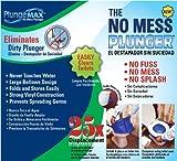 PF WaterWorks PlungeMAX No Mess, Sanitary Toilet Plunger; PF0507