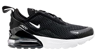 NIKE Kids Preschool Air Max 270 Shoes (1, BlackWhiteAnthracite
