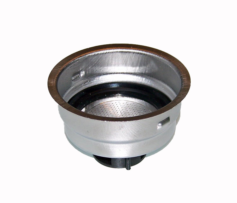 Delonghi 2 Cup Filter Assembly - For Models DES023, ECO310BK, EC155, DES024