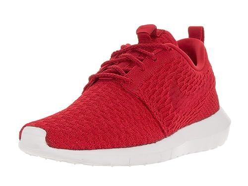 6e7cdd4e130c3 Nike Uomo Roshe NM Flyknit Scarpe Sportive Rosso Size  42