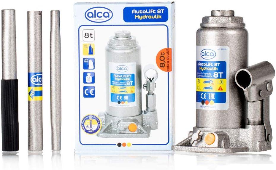 alca/® 432200 Wagenheber Unterstellheber hydraulisch 8 Tonnen