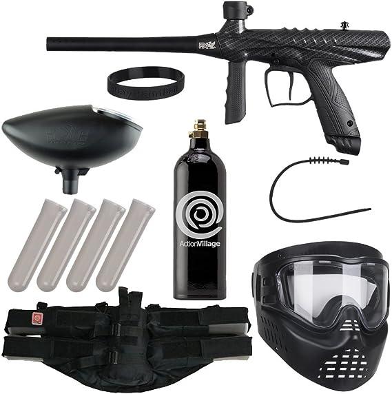 Action Village Tippmann Epic Paintball Gun Package Kit (Gryphon) (Carbon Fiber)
