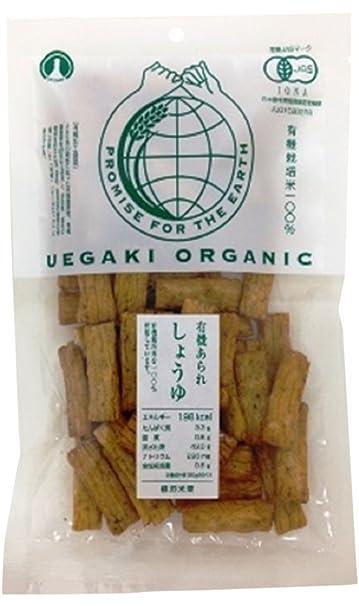 50gX12 uno arroz Uekaki galletas salsa de soja granizo orgaenica