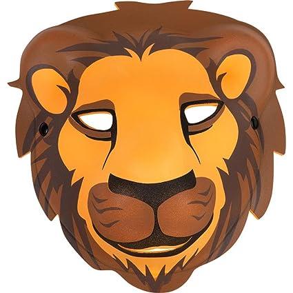 8ac62a64d Amazon.com: Child's Foam Lion Mask: Toys & Games