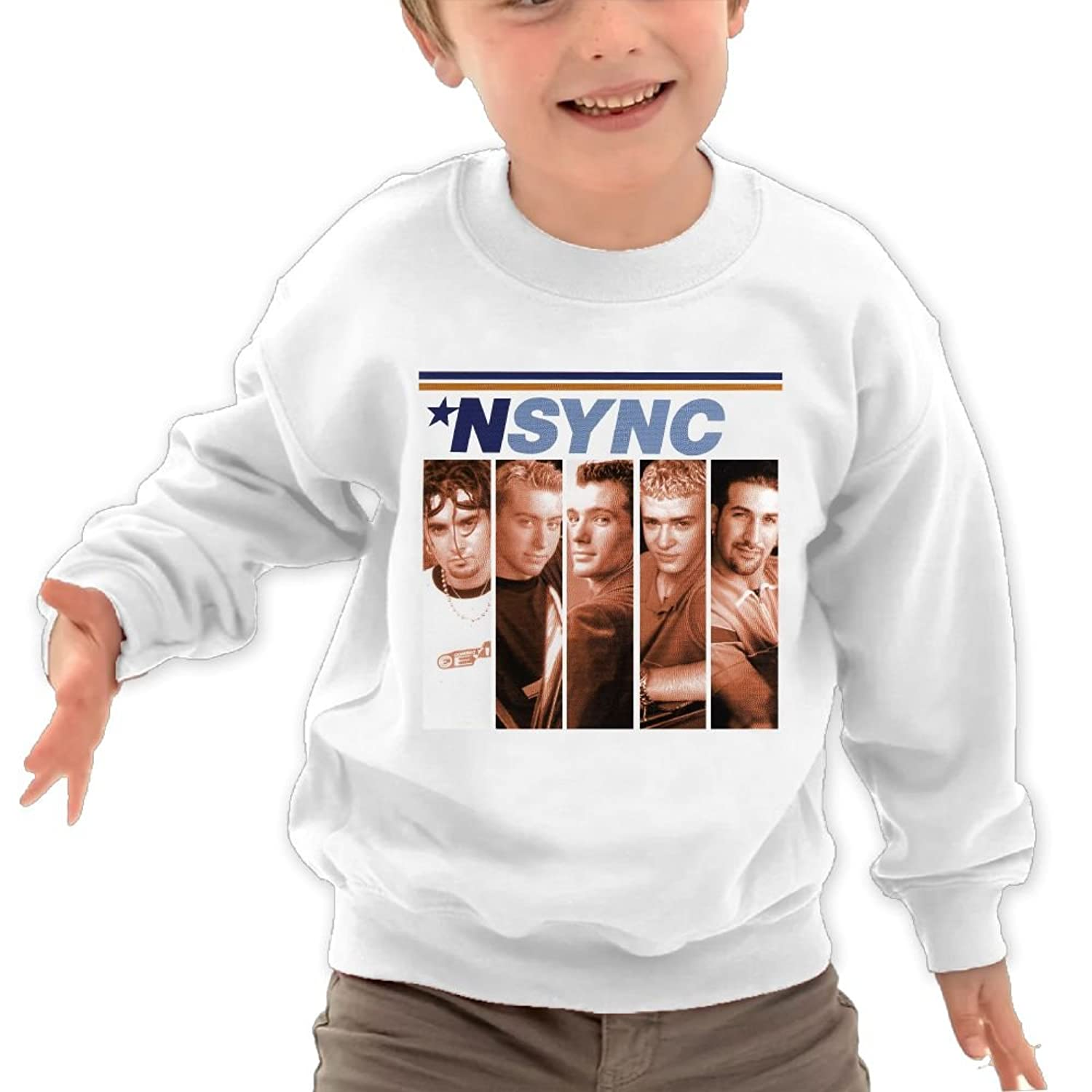 Amazon.com: YYGOODS Nsync Kid\'s Hoodie Long Sleeve Crewneck ...
