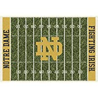 Notre Dame Fighting Irish NCAA College Home Field Team Area Rugs