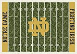 Cheap American Floor Mats Notre Dame Fighting Irish NCAA College Home Field Team Area Rug 5'4″ x7'8