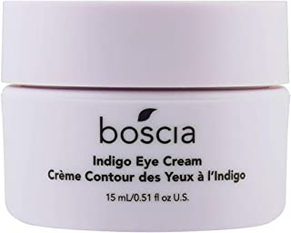 product image for boscia Indigo Eye Cream - Vegan, Cruelty-Free, Natural and Clean Skincare | Wild Indigo Brightening and Color-Correcting Under Eye Cream, 0.51 Fl oz