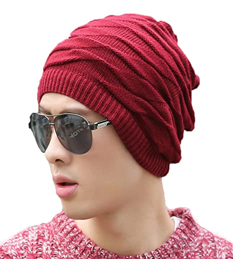 a53bf7fe6fc Hupshy Style Breaker Droopy Beanie Unisex Cap Best Price in India ...