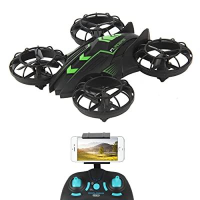 TOYEN GordVE GV1805 Drone RC Quadcopter 3D 360 Degree Flips & Rolls 6-Axis Gyro 4CH 2.4Ghz Remote Control Helicopter With Camera