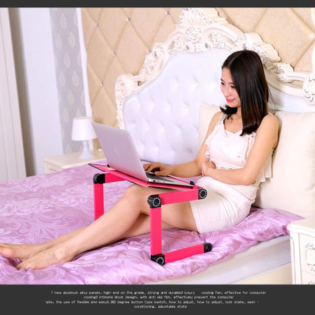 Escritorio portátil plegable, escritorio portátil del ordenador Escritorio portátil Plegable PC Escritorio ordenador Cama Sofá Soporte del ordenador portátil Plegable Ordenador portátil Mesa con ratón Plataforma y barra a 3b880f