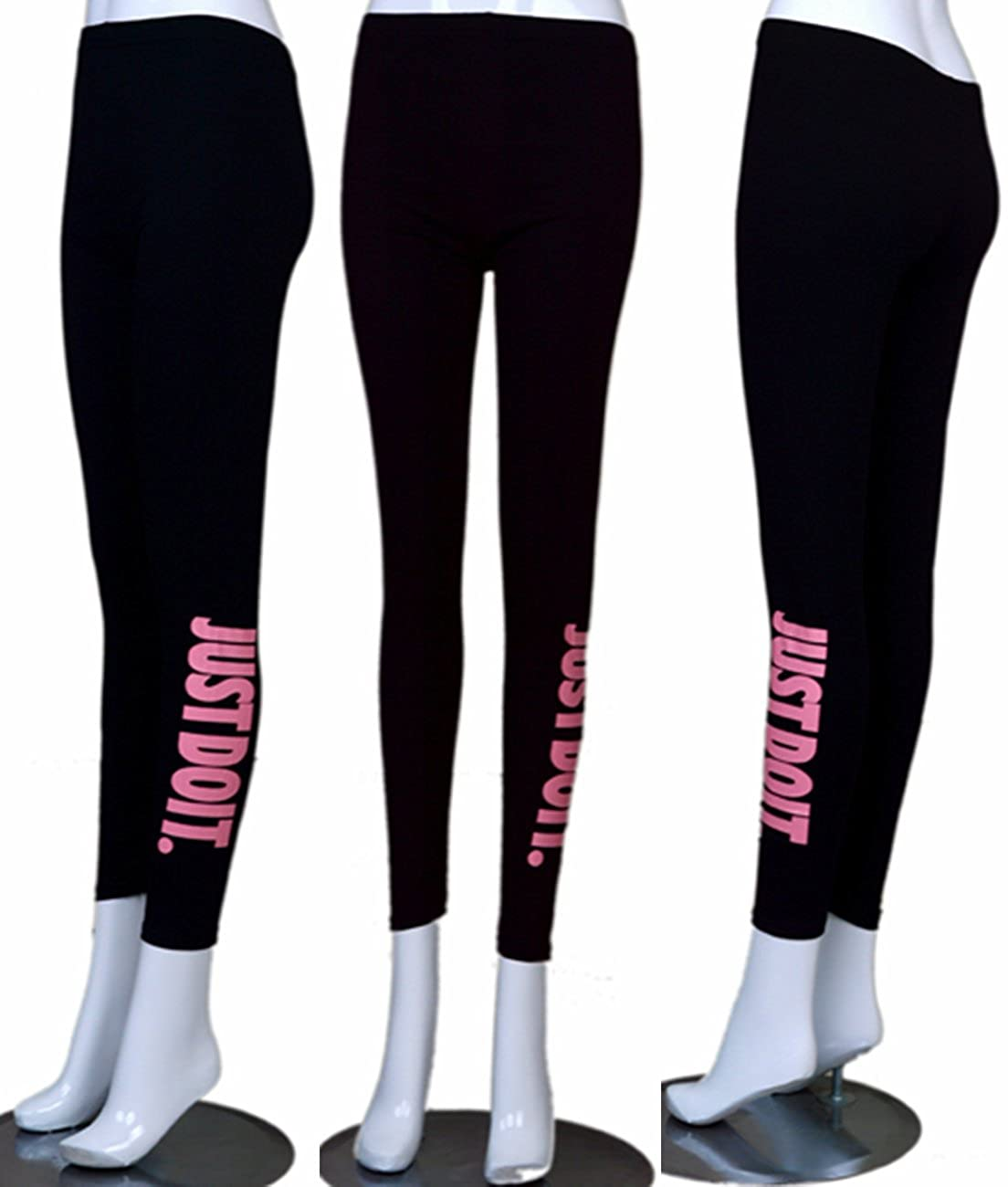 Women's Tights Capri Yoga Running Workout Fitness Sports Leggings Pants 09685654304