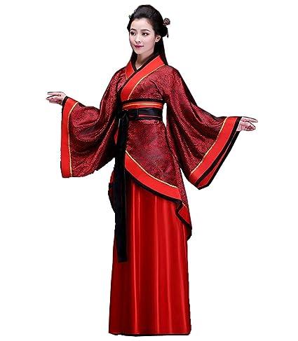 ZENGAI Disfraz antiguo Hembra Traje Tang Han ropa china Formal Ropa de alto  rendimiento Ropa de 5f9c930ed7ea