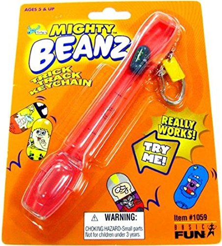 Mighty Beanz Accessory Trick Track Keychain