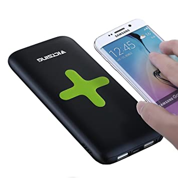 Cargador inalámbrico [2 en 1] 7000 mAh Power Bank, VicTsing ...
