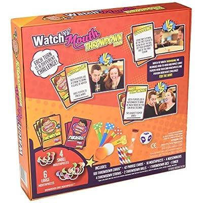 Watch Ya Mouth Throwdown Edition Card Game: Toys & Games