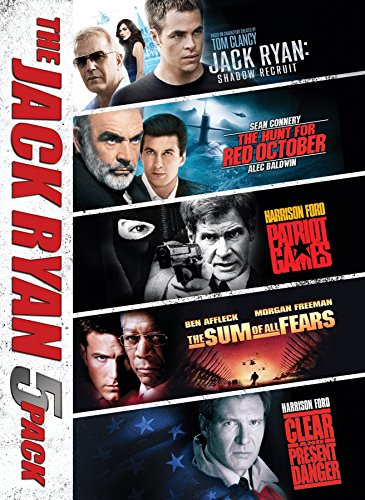 Discount Box - Jack Ryan Movie 5-Pack