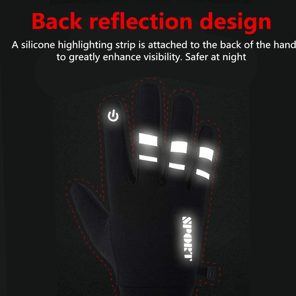 Cycling Gloves Touch Screen Gloves Cycle Gloves Mens Gloves Men Touchscreen Cycling Gloves Mens Winter Winter Gloves For Men Motocross Gloves Winter Gloves For Bike Riding