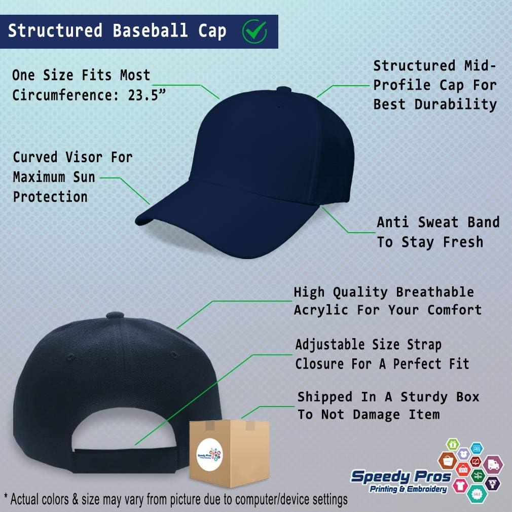 Custom Baseball Cap Golden Musical Notes Embroidery Dad Hats for Men /& Women
