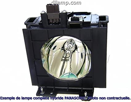 Projector Lamp Assembly with Genuine Original Philips UHP Bulb inside. PT-AE700E Panasonic Projector Lamp Replacement