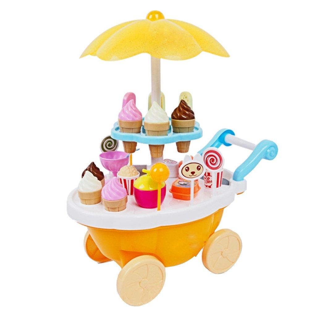 Eisdiele Spielzeug - Beetest Kinder Eiswagen Spielzeug
