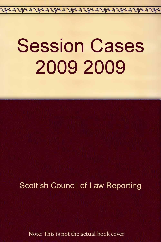 Download Session Cases 2009 2009 pdf epub