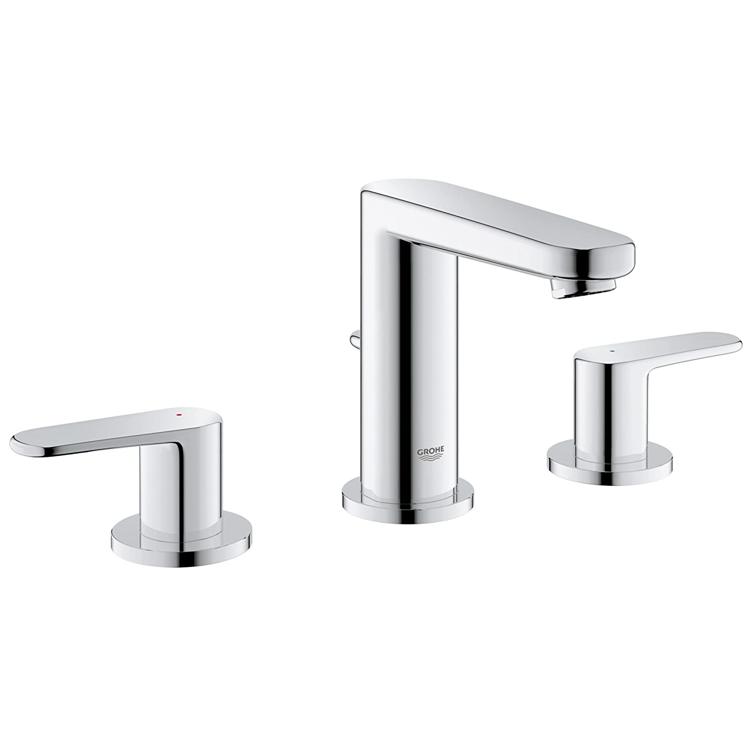 Europlus 8 in. Widespread 2-Handle Low Arc Bathroom Faucet - 1.5 GPM ...