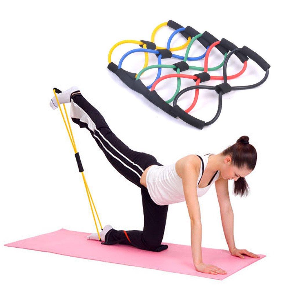 Amazon Com Kasstino 4pcs Useful Fitness Equipment Tube Workout