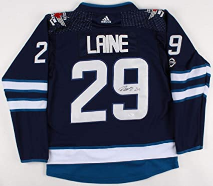 promo code a245a 047ac Patrik Laine Autographed Signed Winnipeg Jets Jersey - JSA ...