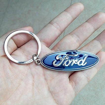Promociones 3d logotipo llavero de metal cromado para coche ...