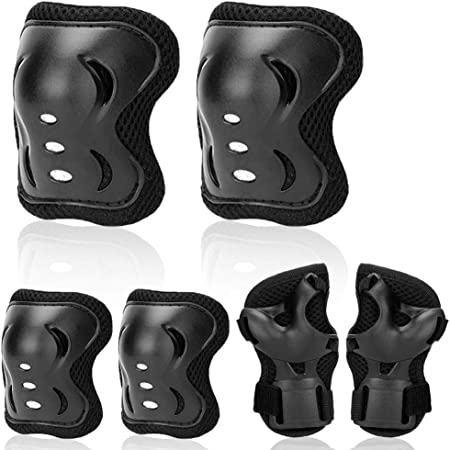 Bike Knee Pads and Elbow Pads Wrist Safety Guards Protective Gear Child kid UK