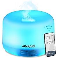 AIMIUVEI Humidificador Aromaterapia Ultrasónico con Control Remoto