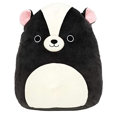 Squishmallow Kellytoy 12 Inch Skyler The Skunk - Super Soft Plush Toy Animal Pillow Pal Buddy: Toys & Games