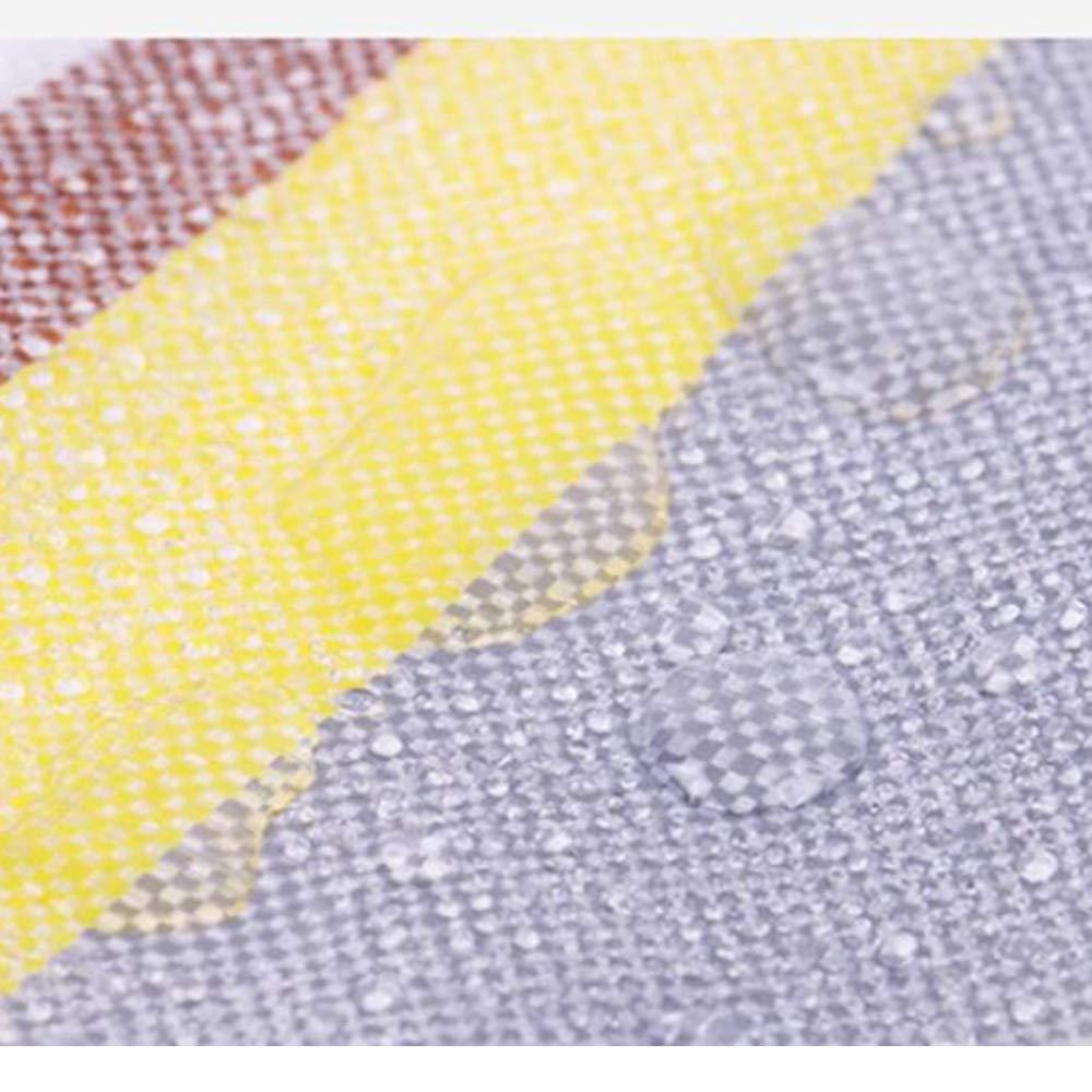 Plane YNN Verdickte Regenschutzplane aus hochdichtem, Gewebtem Gewebtem Gewebtem PE-Linoleum-Tarps-Sonnenschutztuch mit 0,38 mm Dicke, 210 g m² (Farbe   Silber, größe   2  4m) B07K9VRB84 Zeltplanen Umweltfreundlich 3a4ead