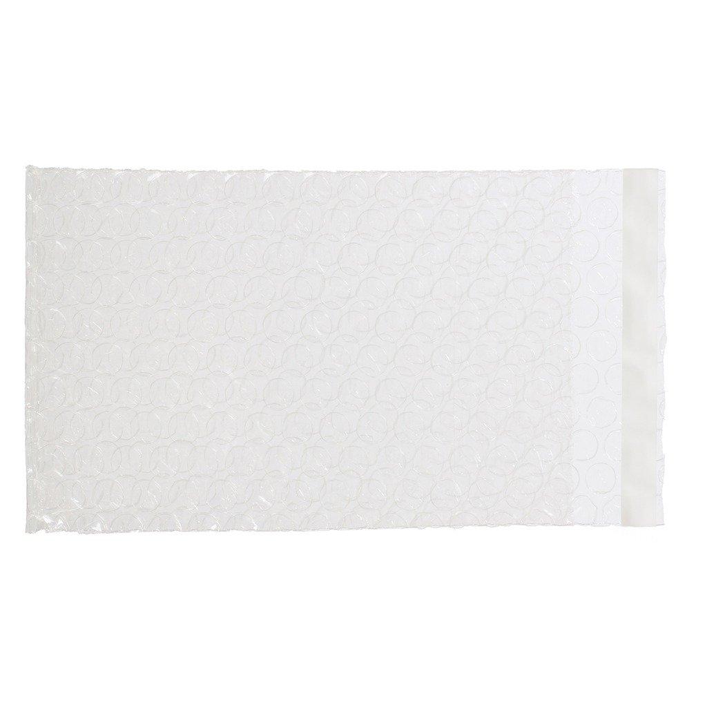 Generic Clear Self Sealing Bubble Envelope Wrap Bag Width 2.5 - 7.5 x Length 3 - 12 Multi Sizes 4 x 6+1 - 50 PCS XSY