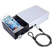 Rubik Portable Safe Box with Combination Lock For Car SUV Drawers Backpacks Luggage (15x21x7cm)