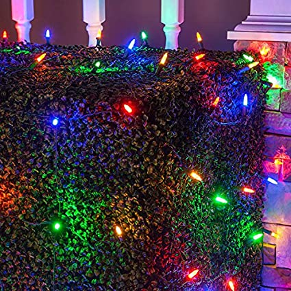 Amazon led net lights outdoor led holiday lights net outdoor led net lights outdoor led holiday lights net outdoor decorative lights christmas net lights aloadofball Images