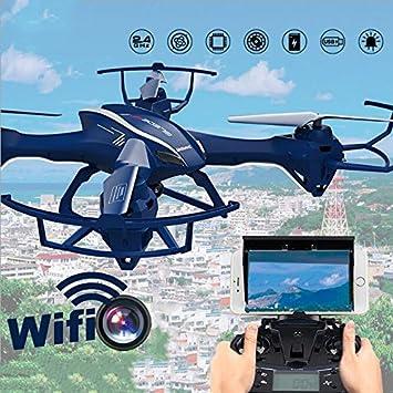 WayIn® U818S Grande WiFi FPV Dron Cuadrocóptero 6 Axis Gyro RC ...