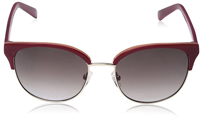 504a97e00b4 Amazon.com  SOCIETY NEW YORK Women s Modern Clubmaster Sunglasses ...