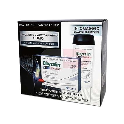 bioscalin Energy Hombre 30 Cápsulas + Champú rinforzante 200 ml