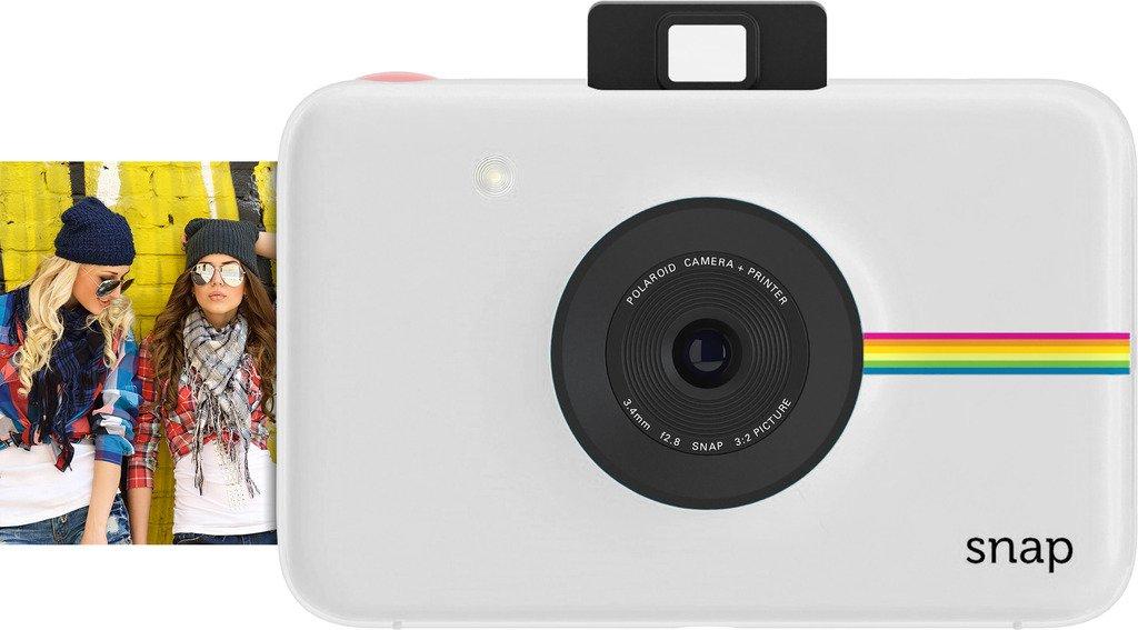 Polaroid Snap Instant Camera Gift Bundle ZINK 9 Unique Colorful Sticker Sets Pouch Photo Album Accessories