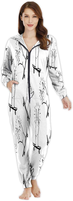 A Road Through Rocks,Women's Onesie Pajamas Sportswear M
