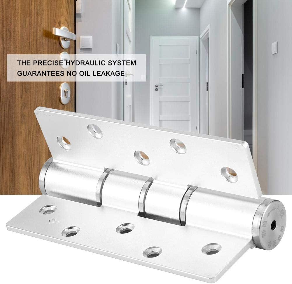 18.8oz Door Hinge E Type Concealed Door Hinge Hydraulic Self-Closing Door Hinge Aluminum Door Hinges Positioning Damping Door Closer Hinge
