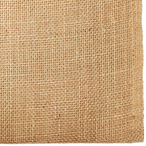 40 inch X 6 Feet Garden Plant Protection Large Wide Tree Wrap IZO Home Goods Jute Burlap Weed Barrier Fabric