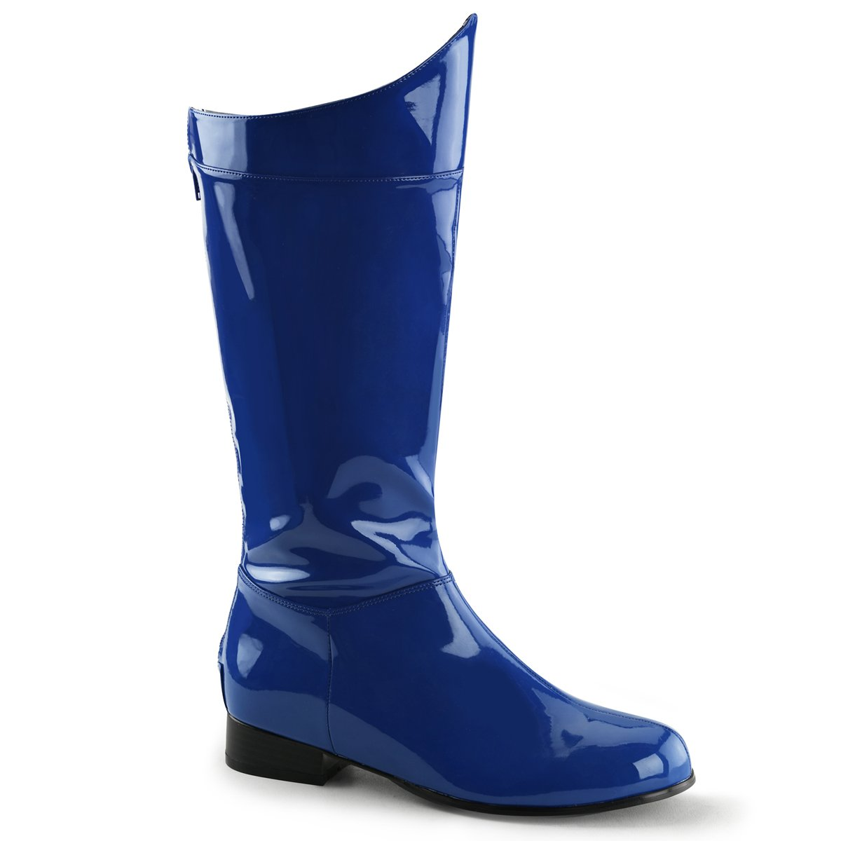 Funtasma Men's Hero 100 Engineer Boot B01MDLY4XL Small|Blue Pat