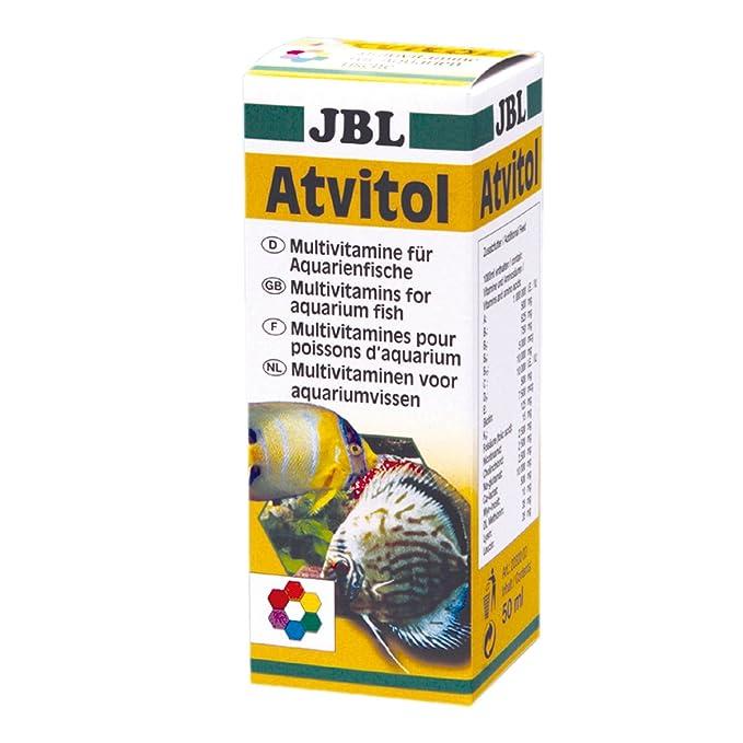 JBL 203000 Atvitol Gotas de Multivitaminas para Peces de Acuario - 50 ml: Amazon.es: Productos para mascotas