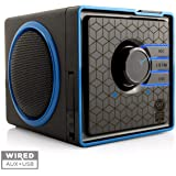 Portable Speaker by GOgroove - SonaVERSE BX Rechargeable Compact Speaker with Removable 3-5 Hour Battery AUX & USB…