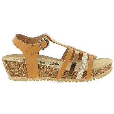 0774b22ef2b Xti Sandales pour Femme 46803 C Camel  Amazon.fr  Chaussures et Sacs
