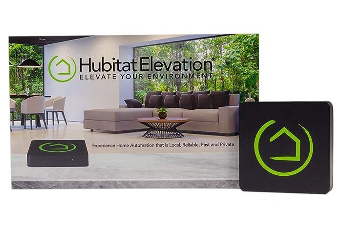 Hubitat Elevation Home Automation Hub - Compatible with Alexa, Google Home, Iris, Zigbee, Z-Wave, Lutron